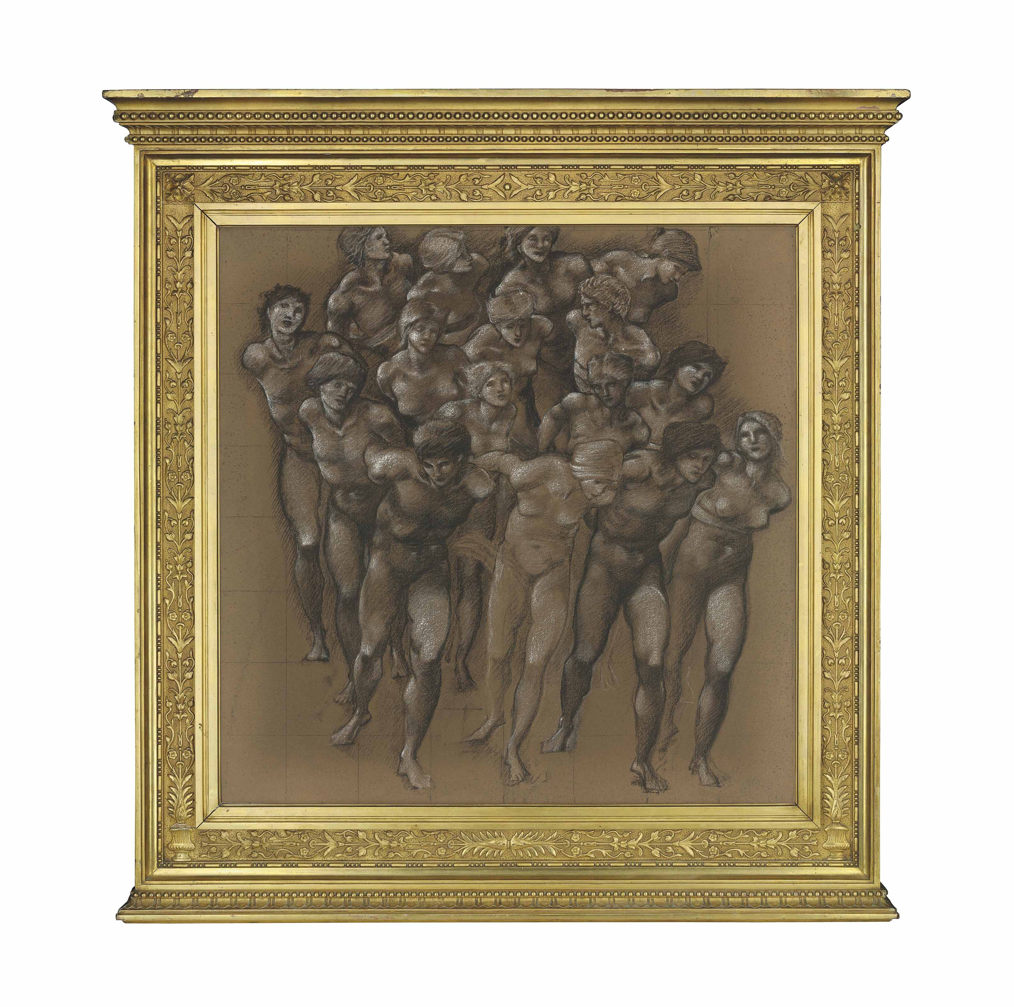Study for the 'Chariot of Love', or 'Love's Wayfaring'