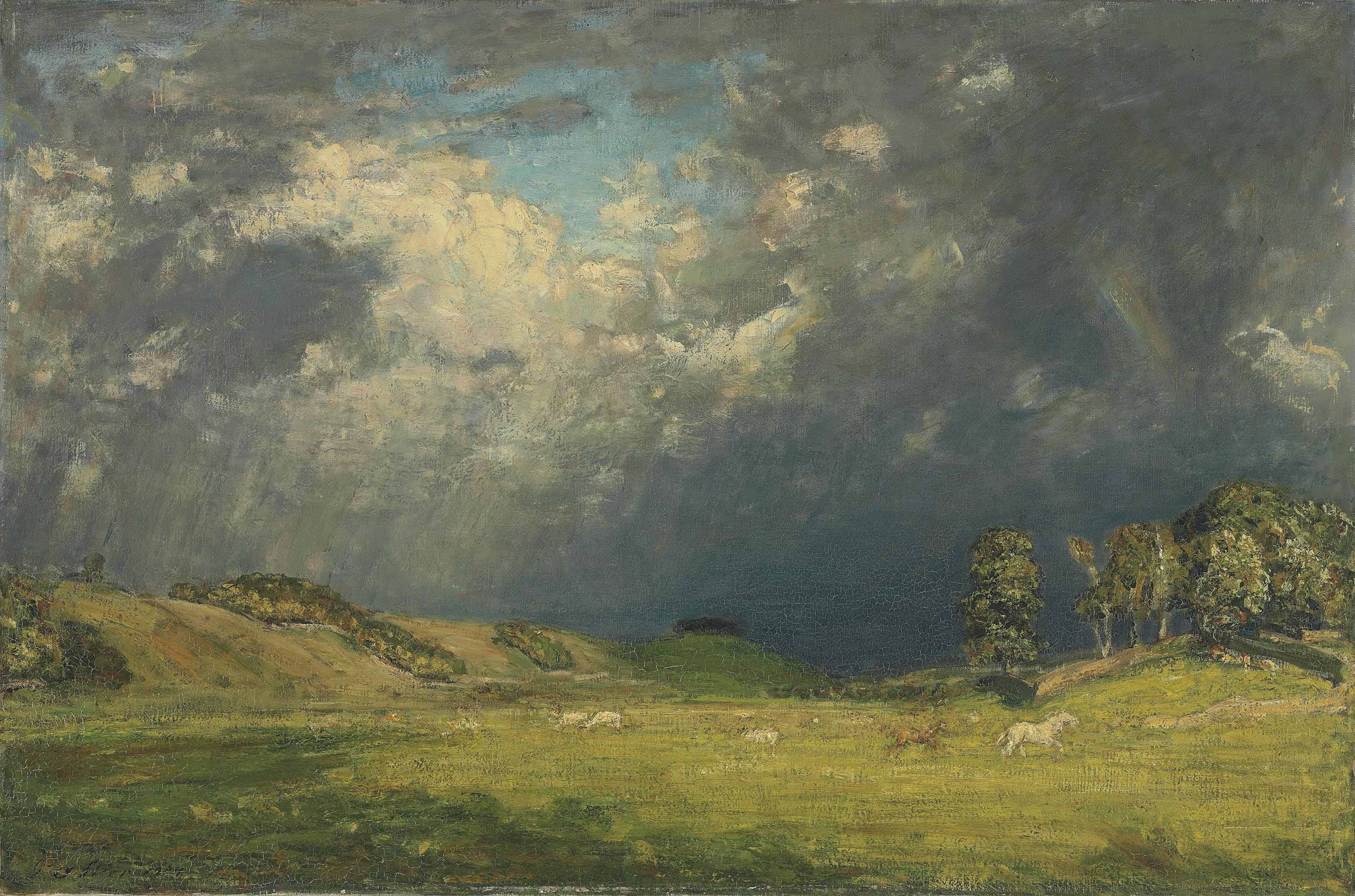The Storm, Hawes, Yorkshire (Horses Racing)