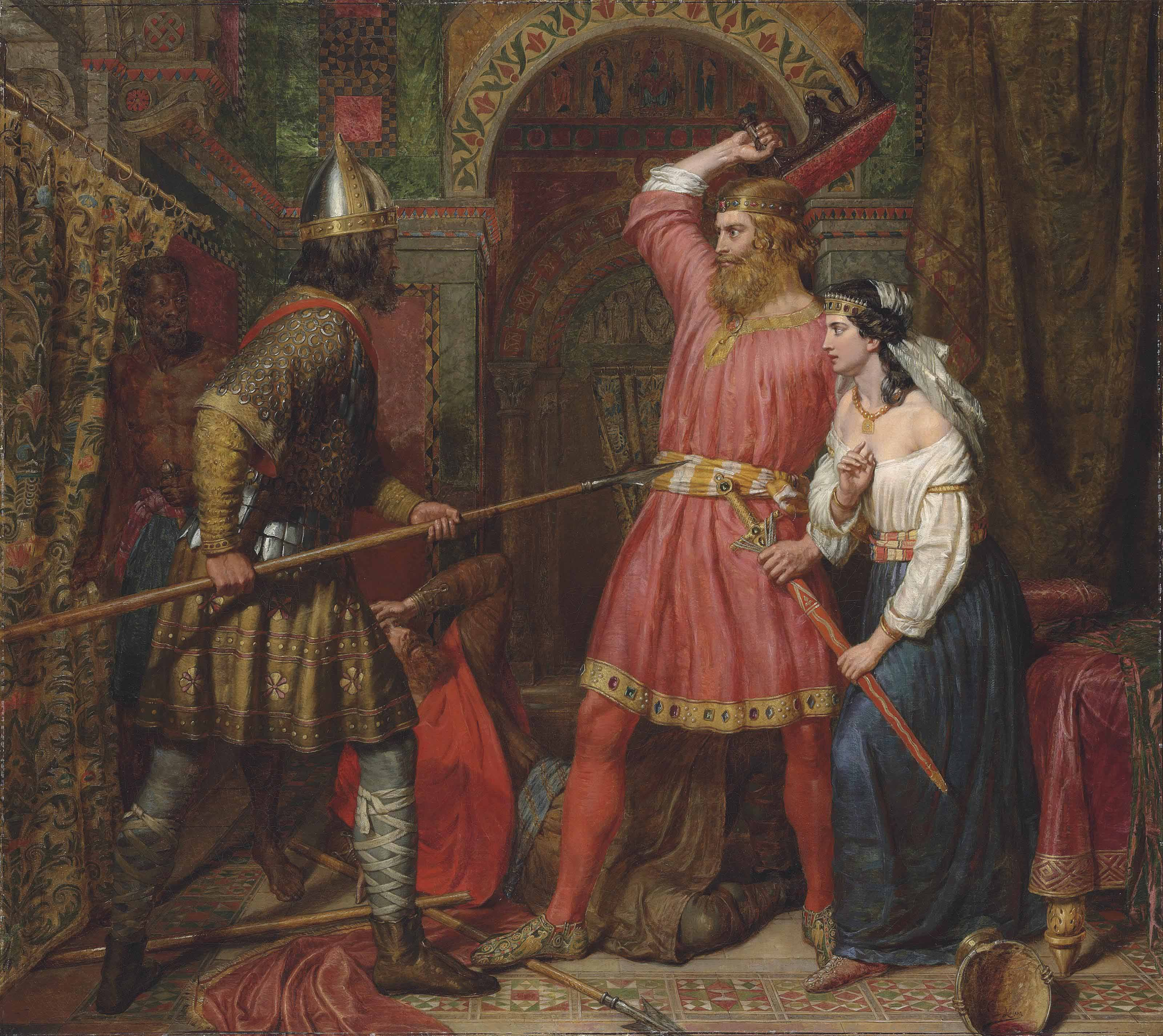 The Assassination of Alboin, King of the Lombards
