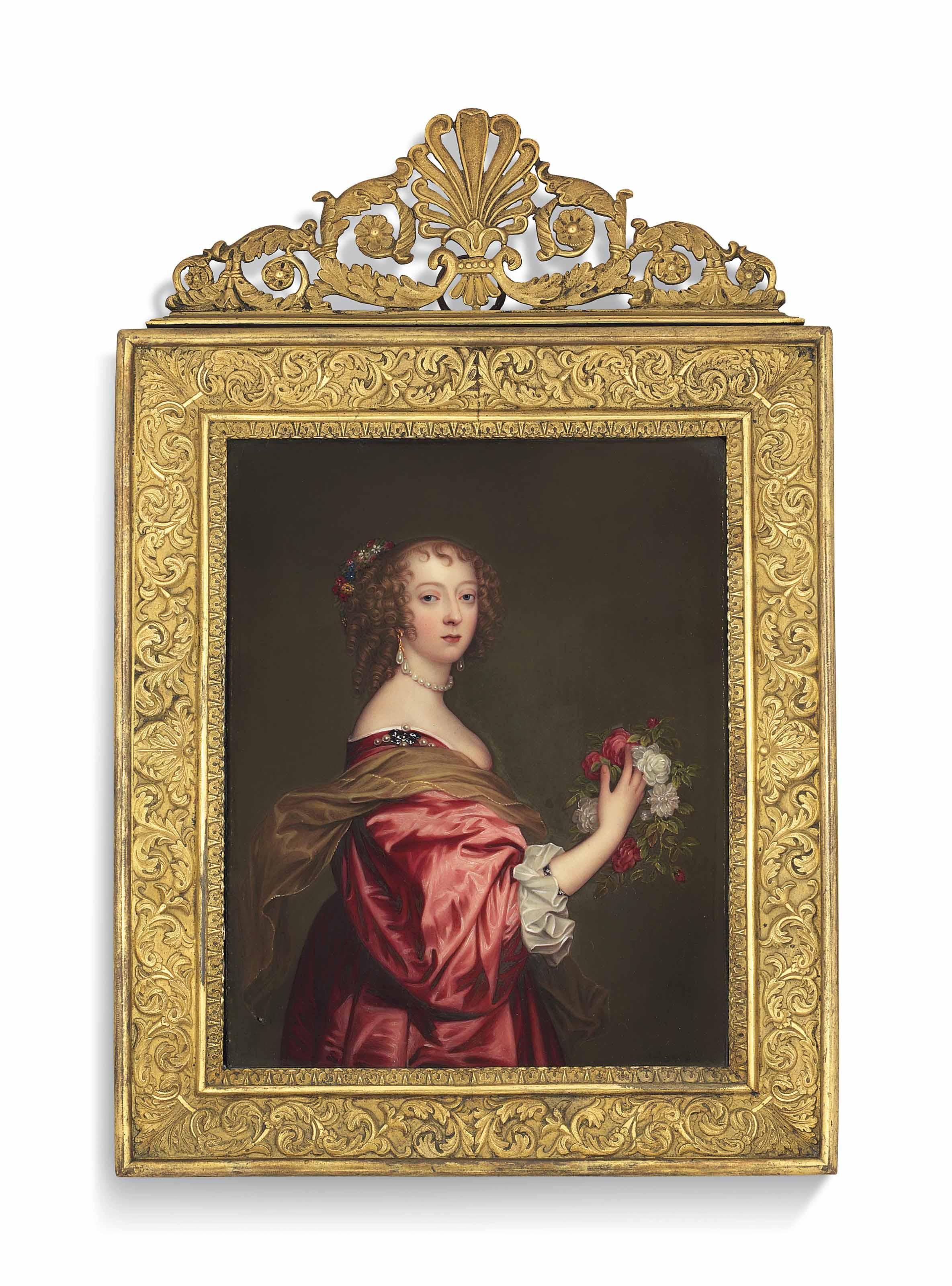 HENRY BONE, R.A. (BRITISH, 1755-1834) AFTER SIR ANTHONY VAN DYCK (FLEMISH, 1599-1641)