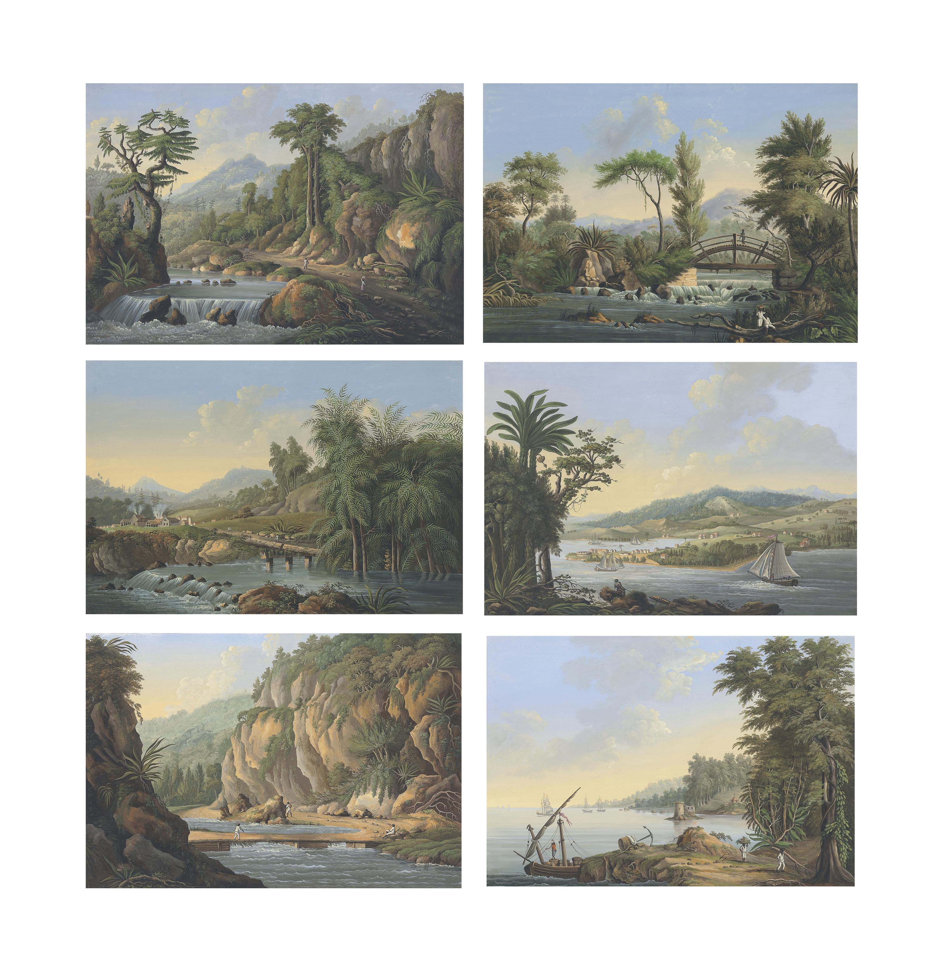 Six Views in the Island of Jamaica