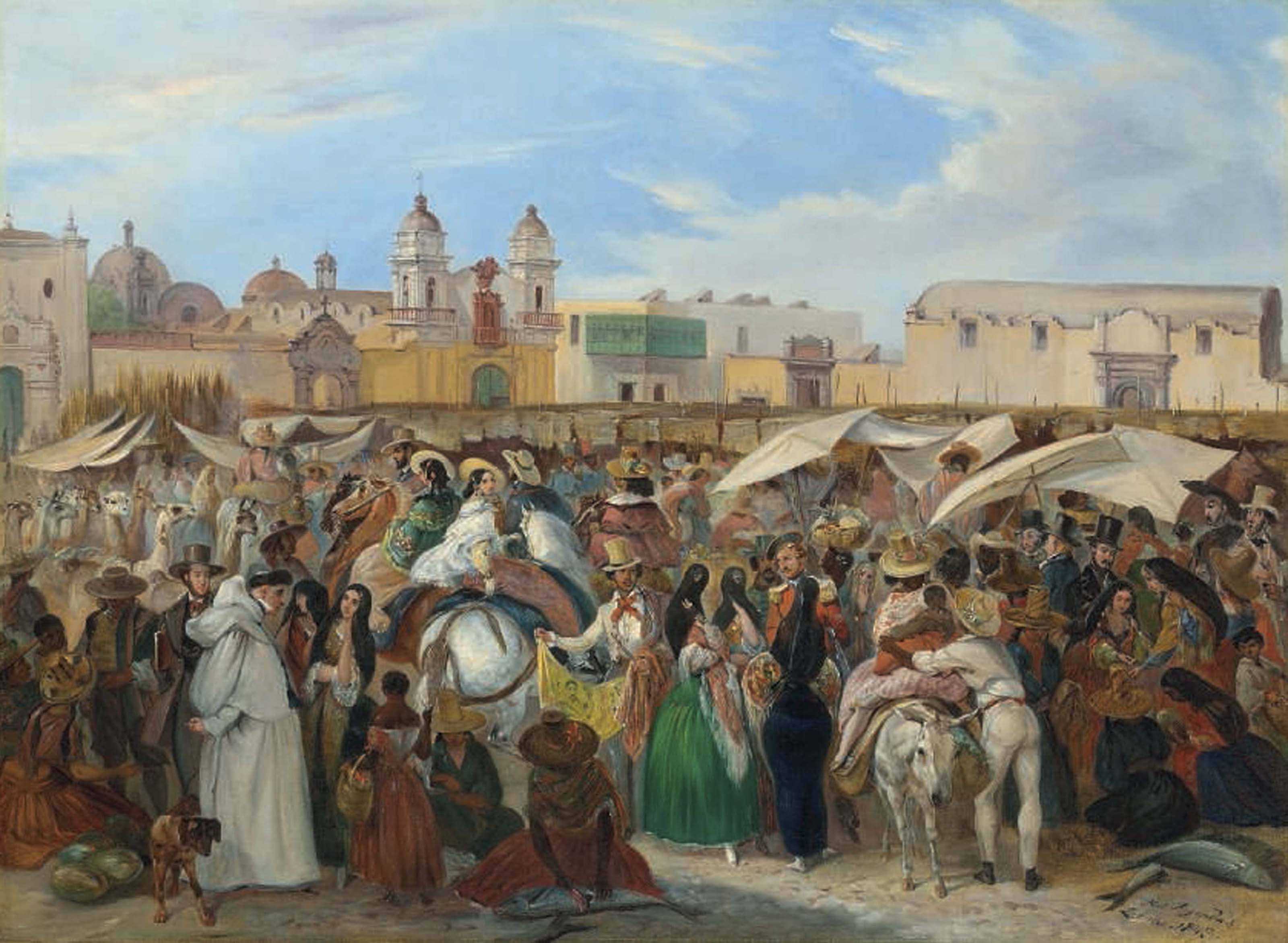 The Independencia market, Lima