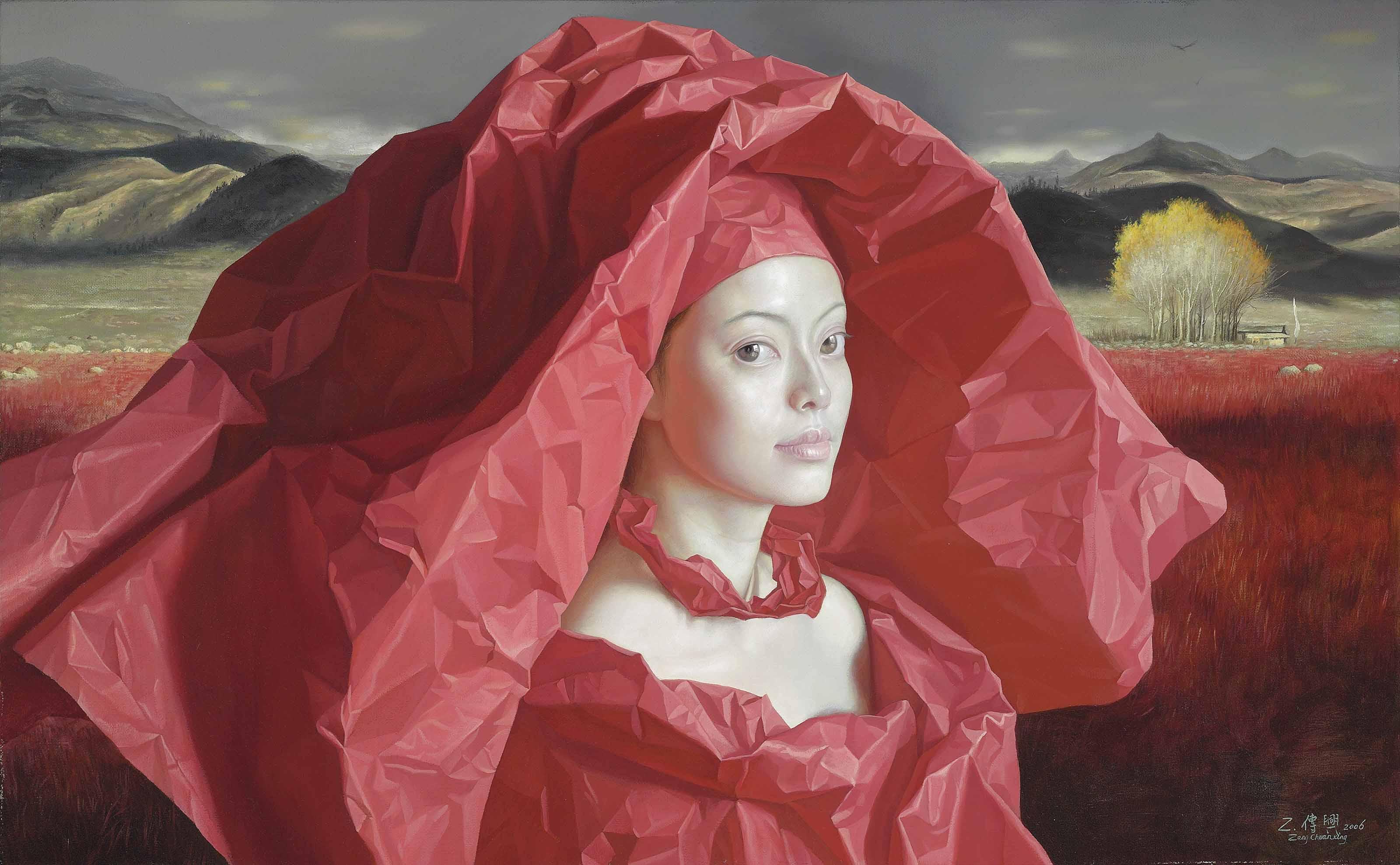 Paper Bride, Red Grass Sea