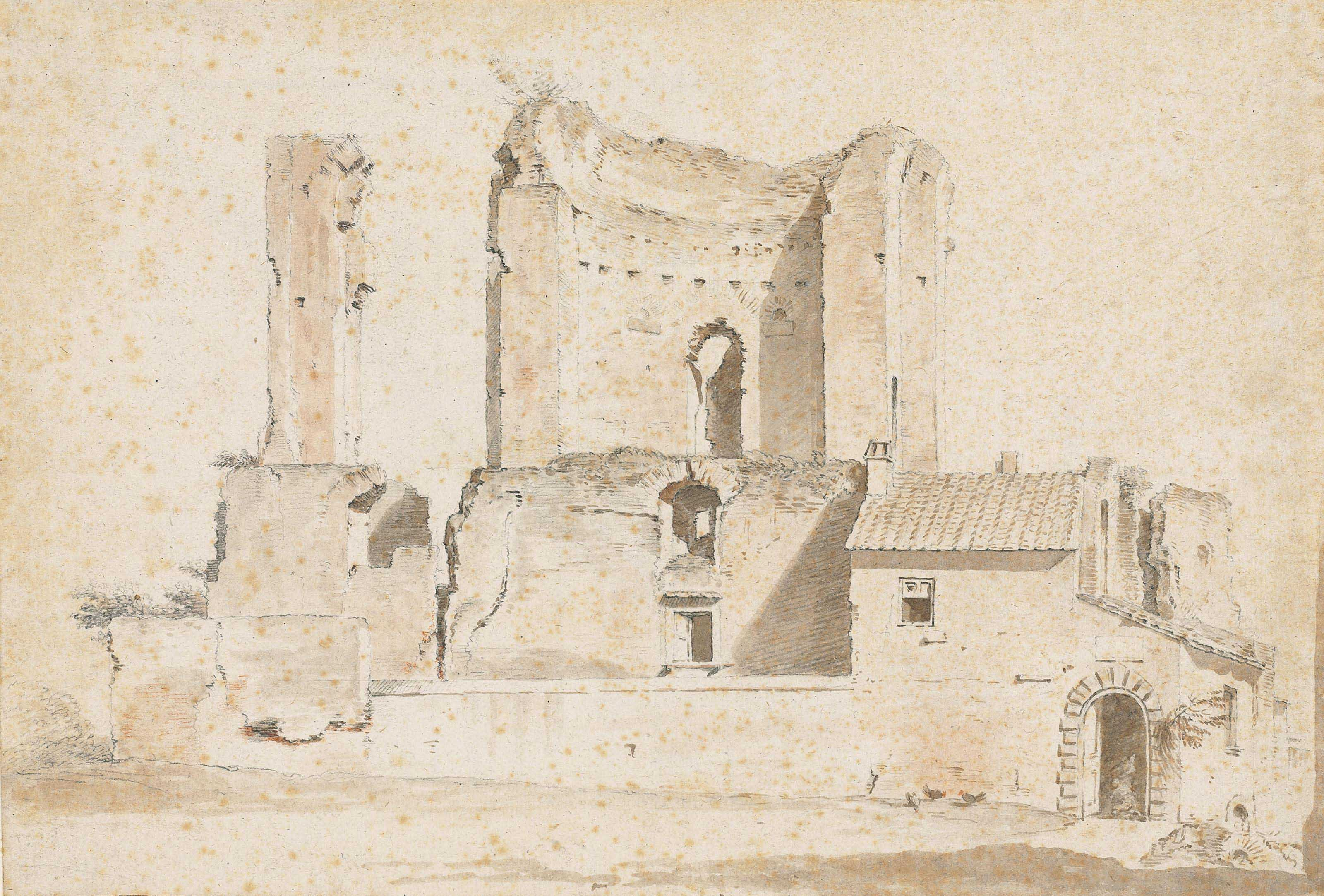The Nymphaeum on the Esquiline known as the Trofei di Mario, Rome
