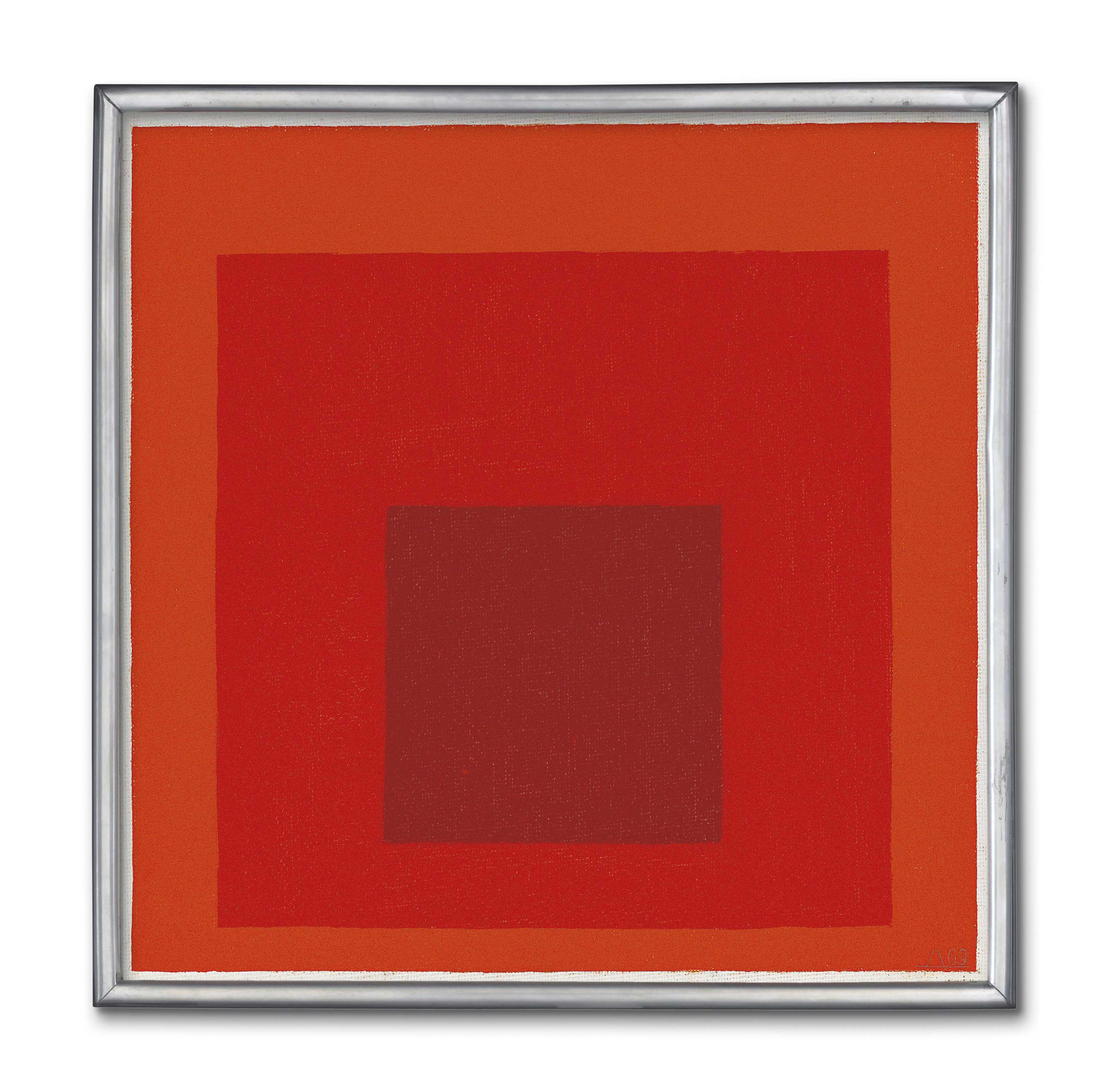 """Study for Homage to the Square: """"Containt"""""""