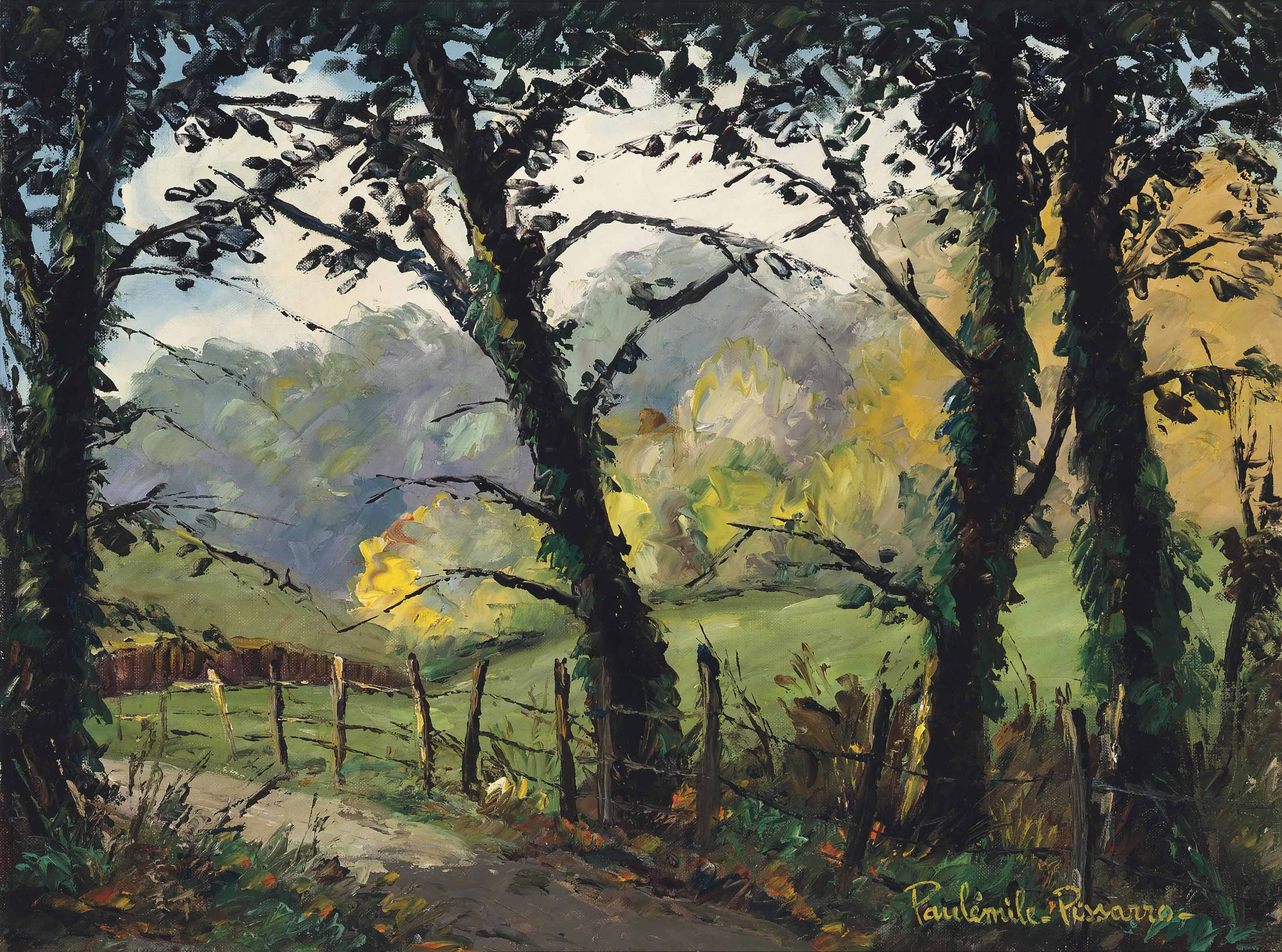 Chemin de la vallée à Clécy