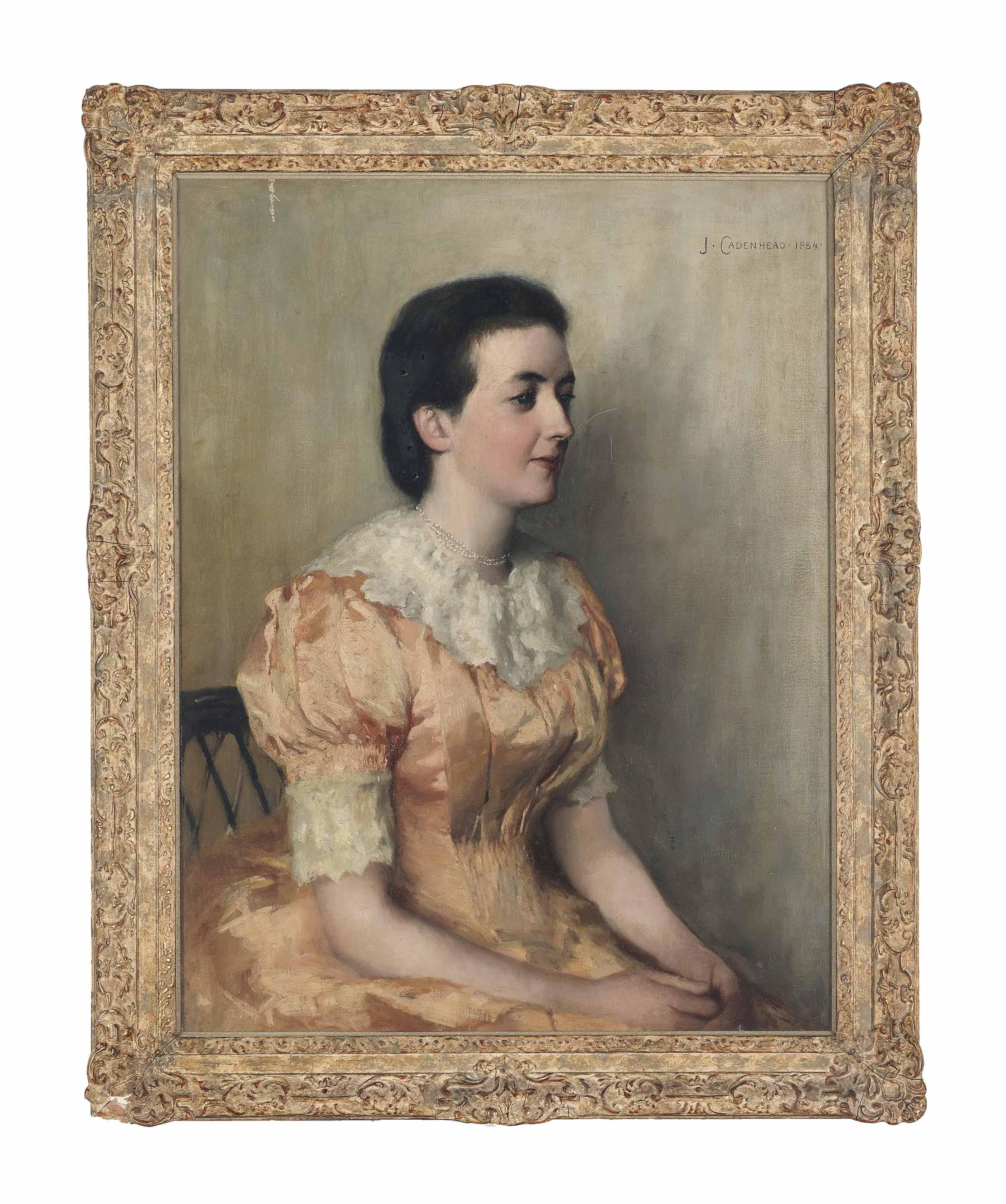Portrait of Barbara Anne Milligan, née Milne