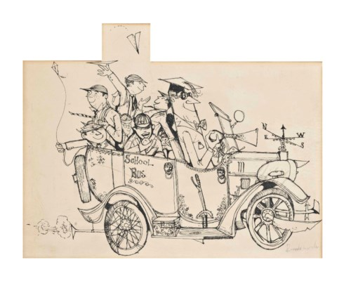 Ronald Searle (Cambridge 1920-