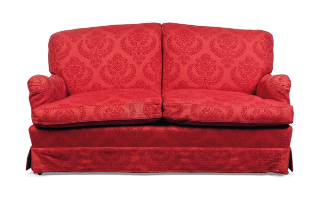 A TWO-SEAT SOFA