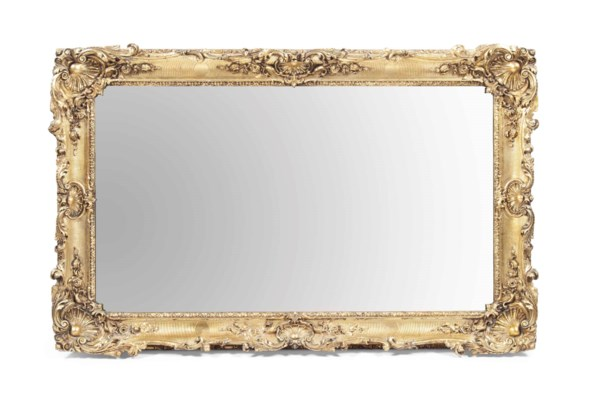 A VICTORIAN GILTWOOD PICTURE F