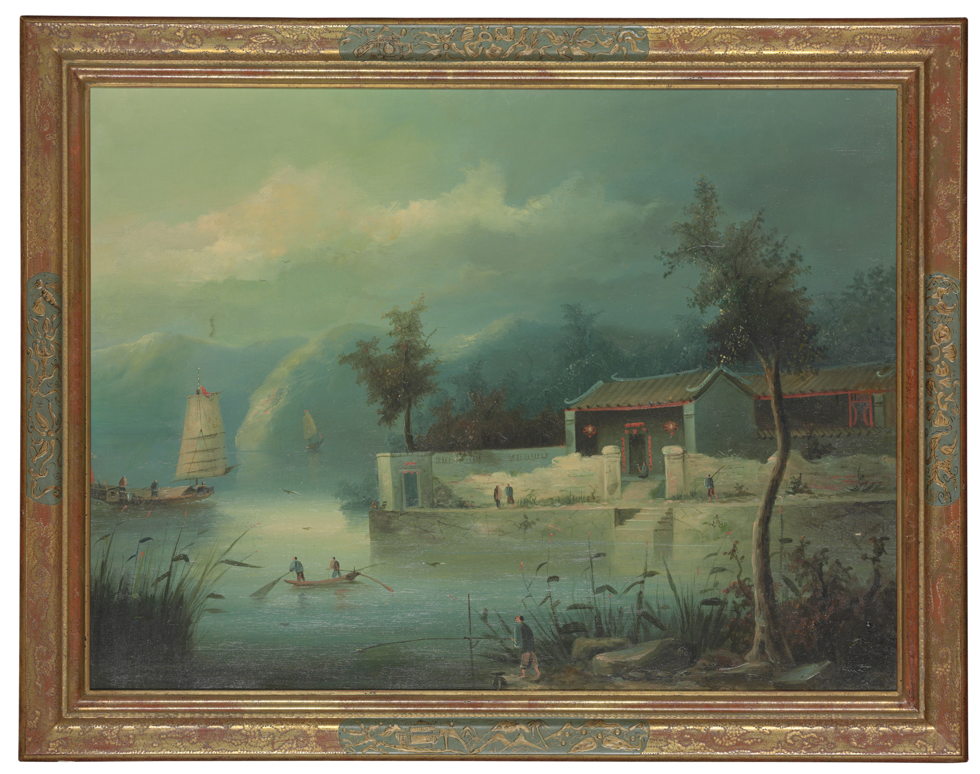 FOUR CHINESE SCHOOL PAINTINGS,