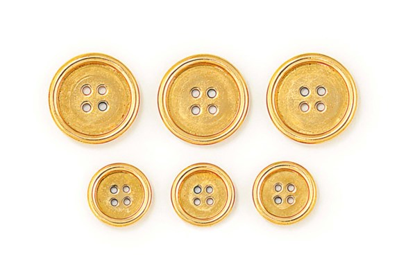 A SET OF BLAZER BUTTONS, BY CA