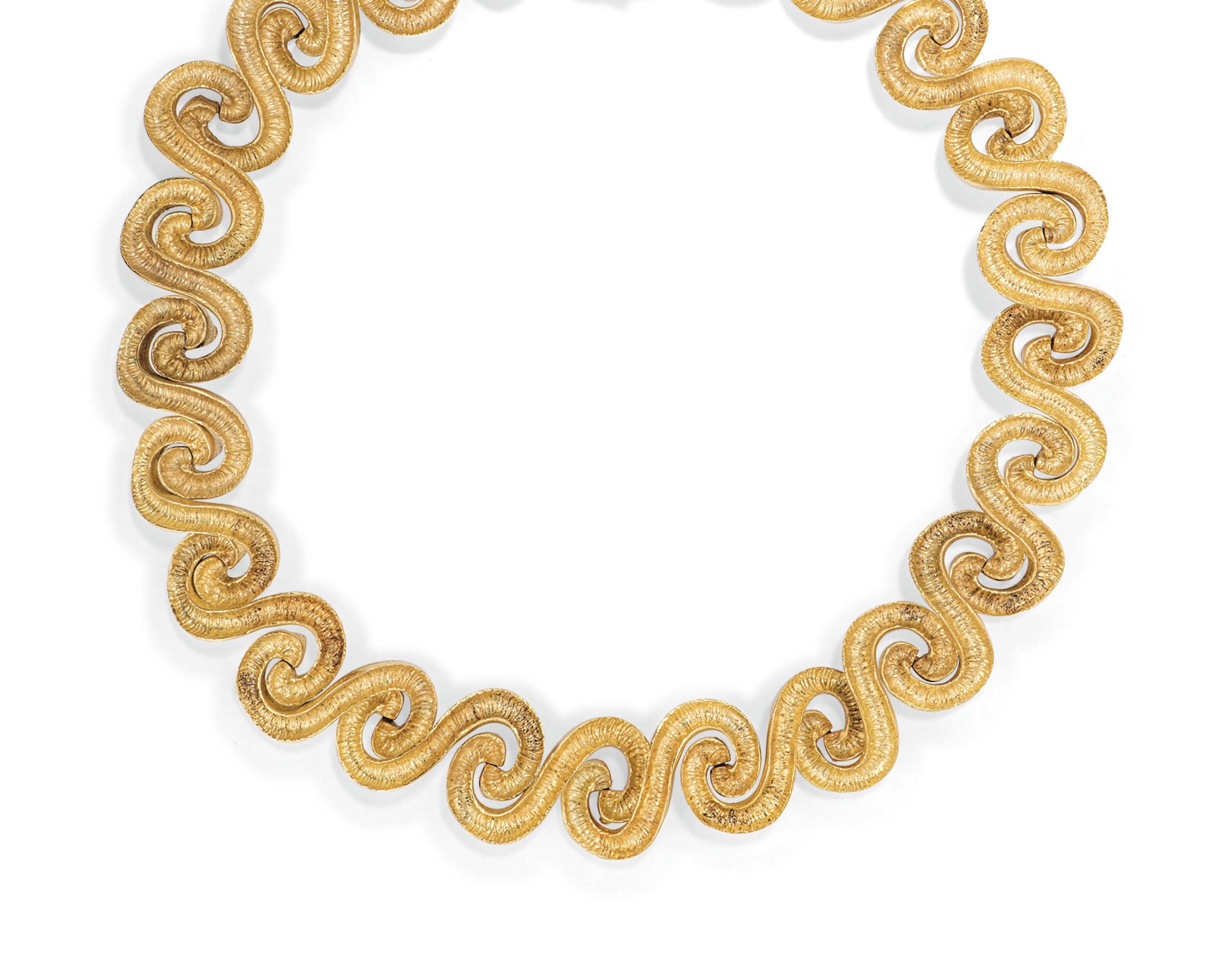 A NECKLACE, BY ZOLOTAS