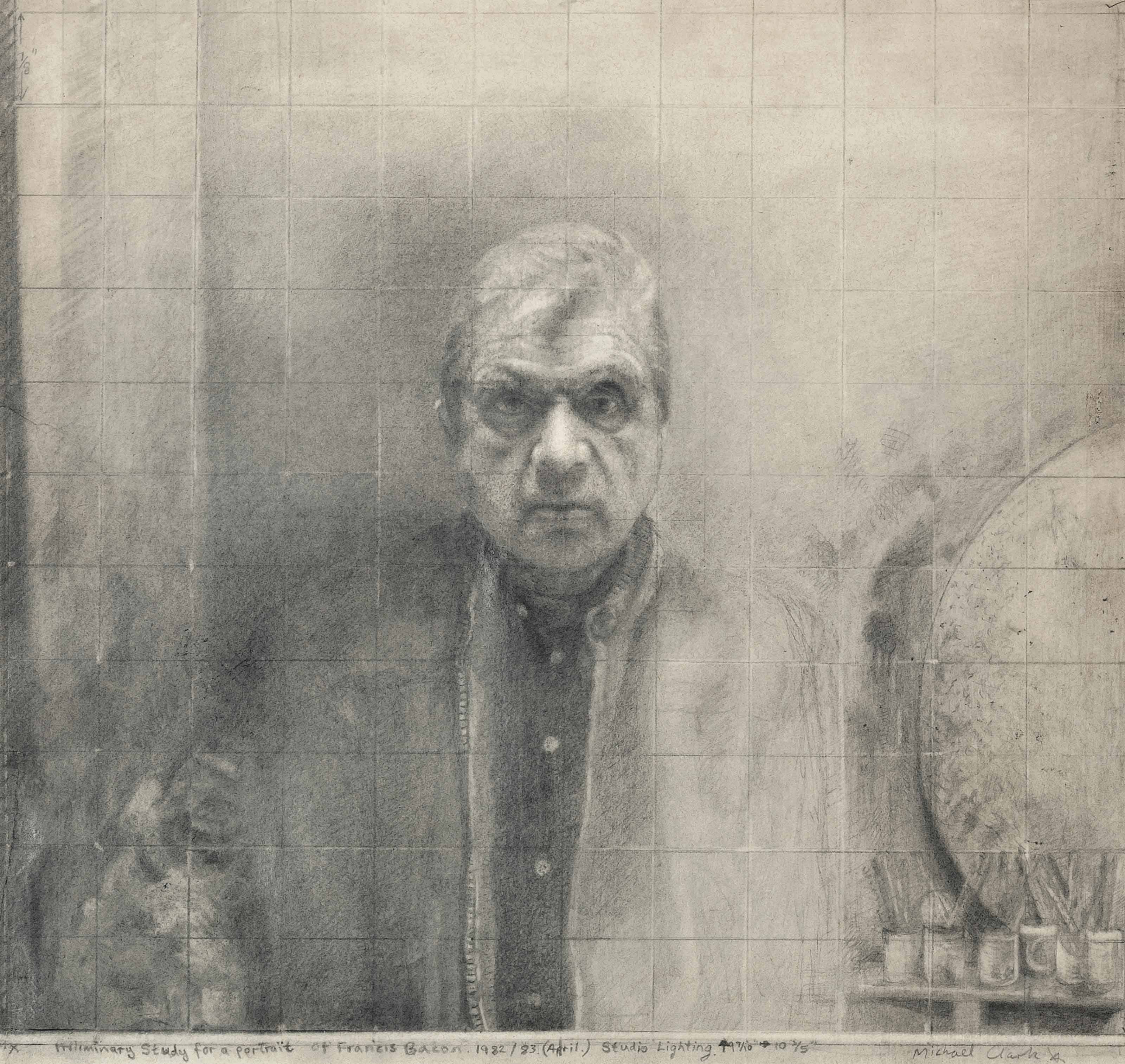 Preliminary Study for a Portrait of Francis Bacon