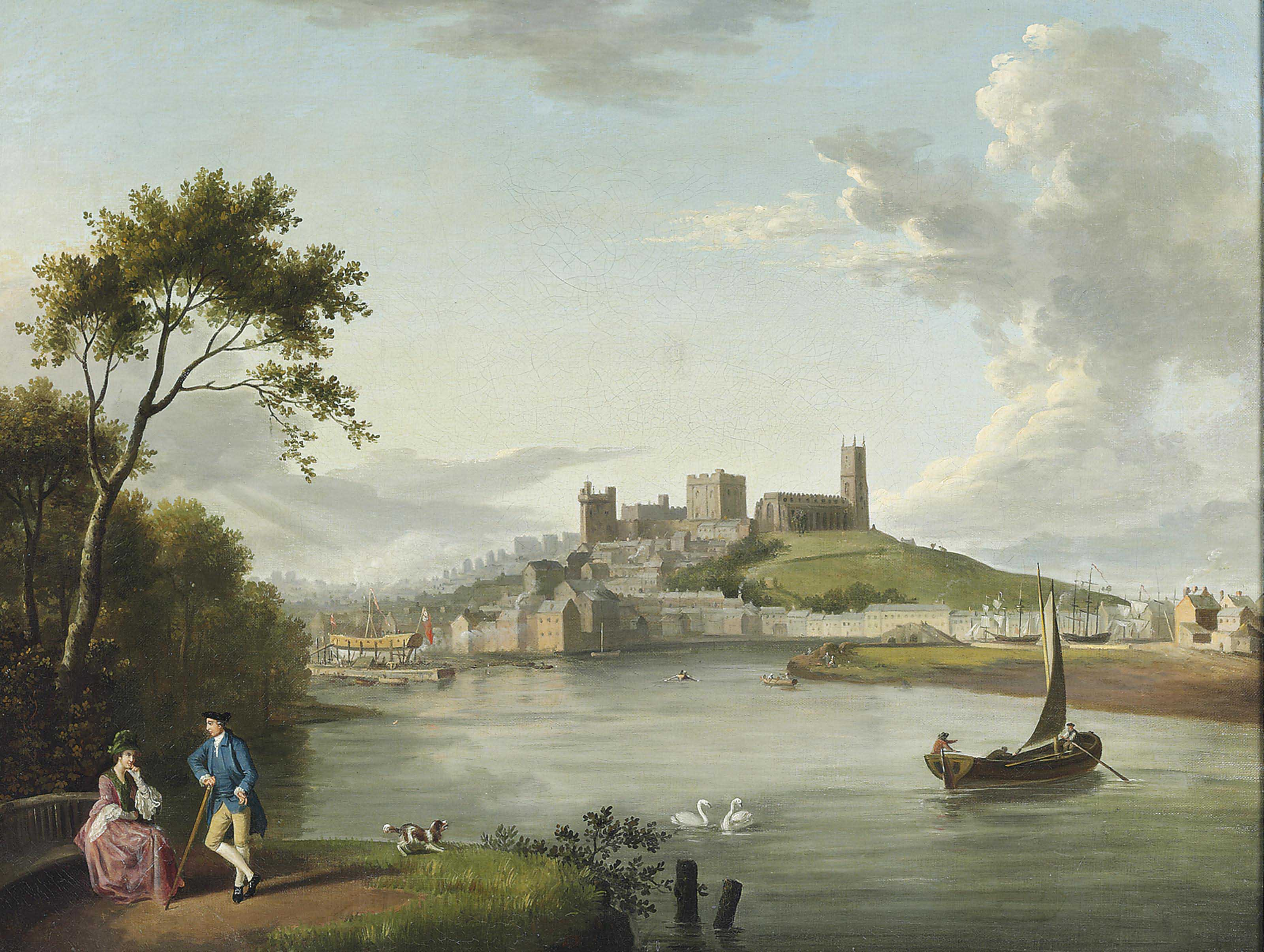A view of Lancaster