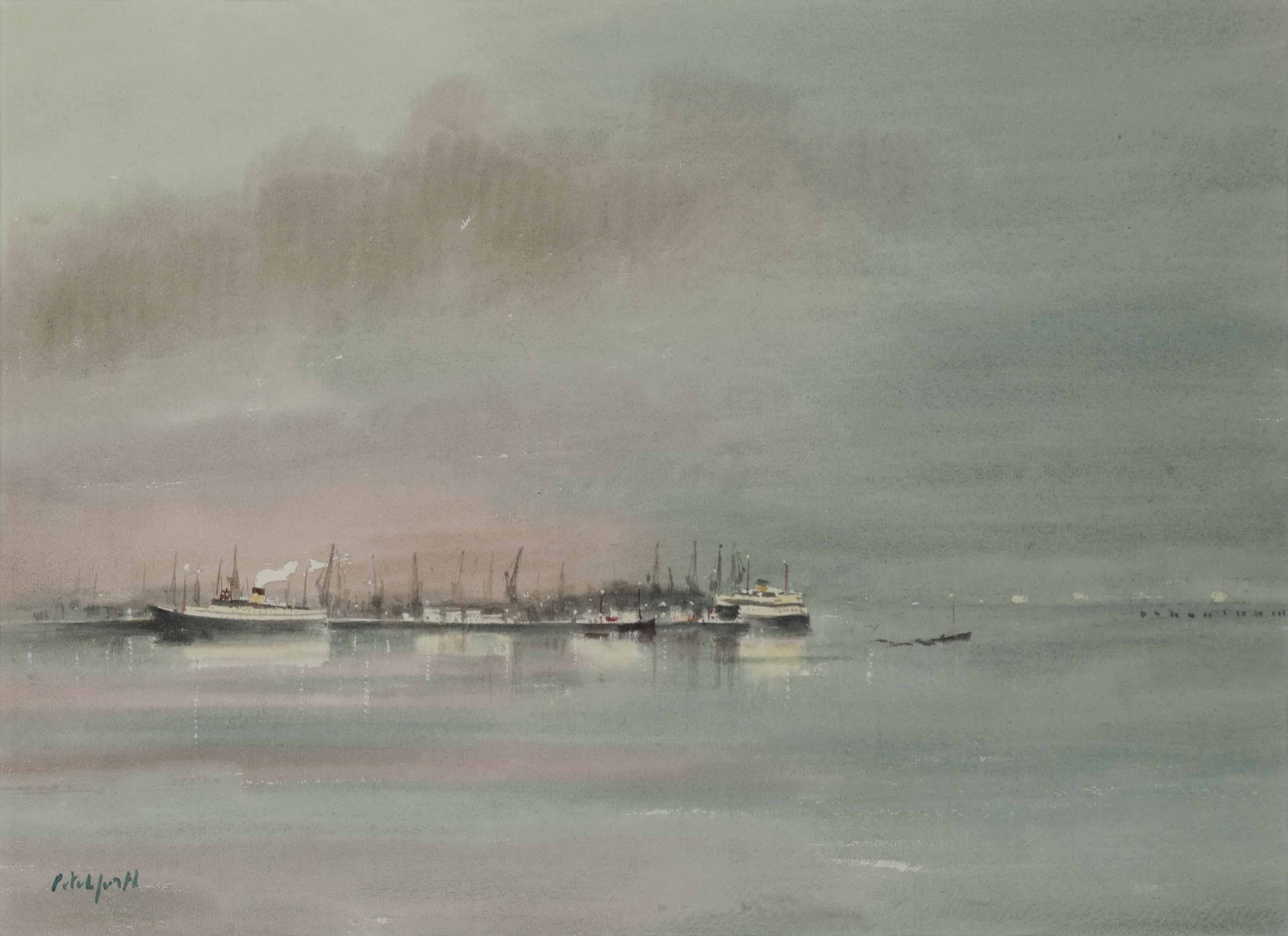 Southampton Docks, Evening