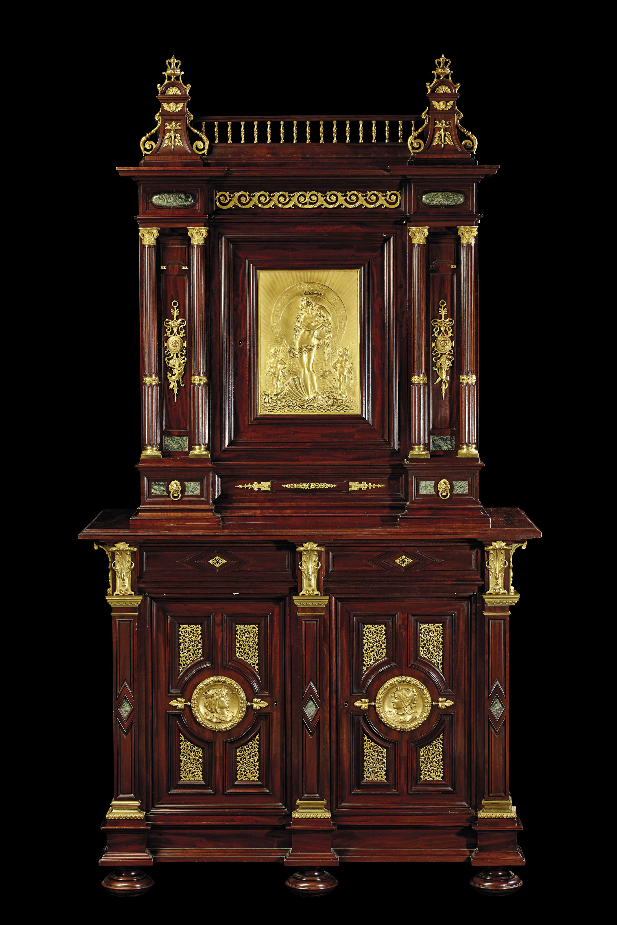 AN IMPORTANT FRENCH ORMOLU-MOU