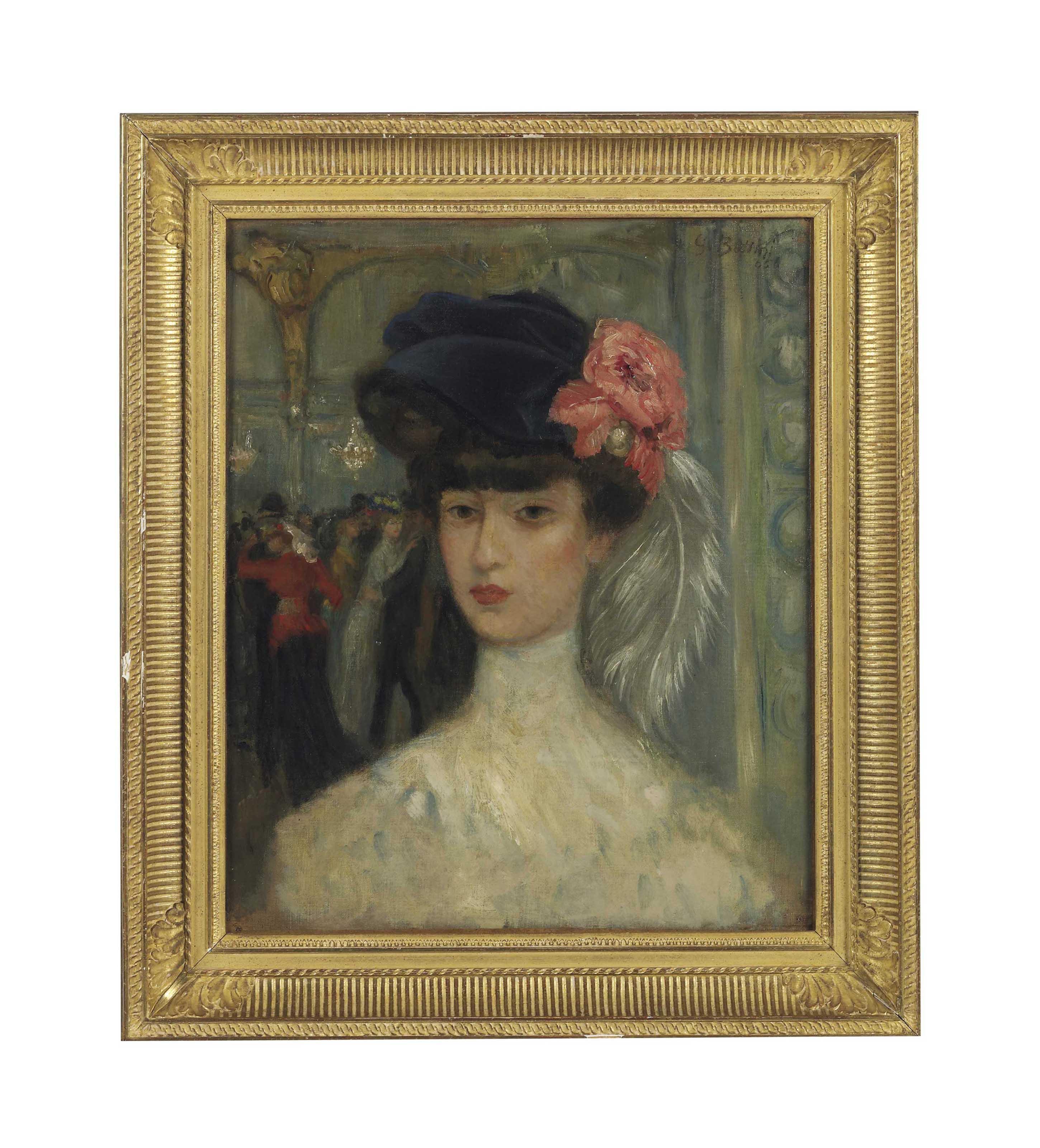 Une demoiselle au Moulin Rouge