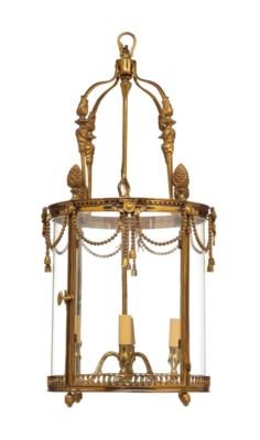 A LOUIS XVI STYLE FOUR-LIGHT B