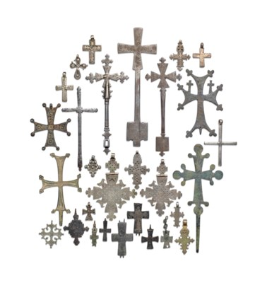 A LARGE COLLECTION OF COPTIC C