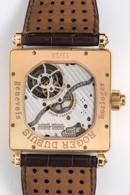 ROGER DUBUIS. A VERY FINE 18K