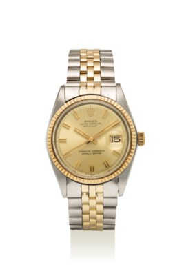 ROLEX. A FINE GOLD AND STAINLE