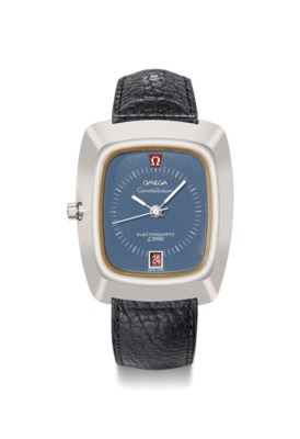 Omega. A large stainless steel