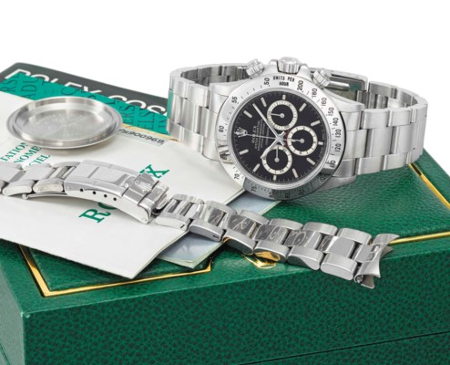Rolex. A fine, rare and early