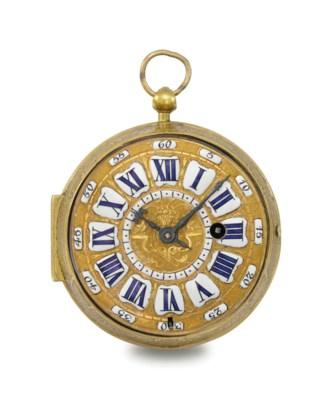 dupr a louis xiv gilt brass oignon watch signed dupr paris circa 1705 christie 39 s. Black Bedroom Furniture Sets. Home Design Ideas