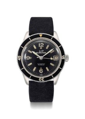 Blancpain. A rare and large st