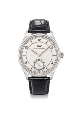 IWC. A fine, rare and large pl