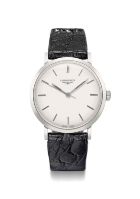 Longines. A stainless steel wr