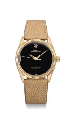 Rolex. A fine and elegant 18K