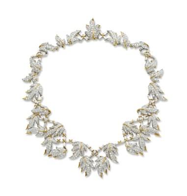 A DIAMOND NECKLACE, BY JEAN SC