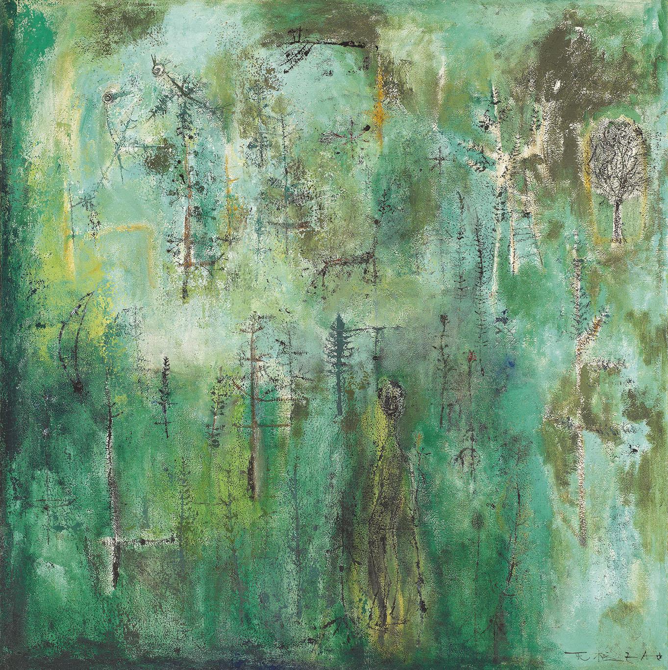 Untitled (Vert émeraude)