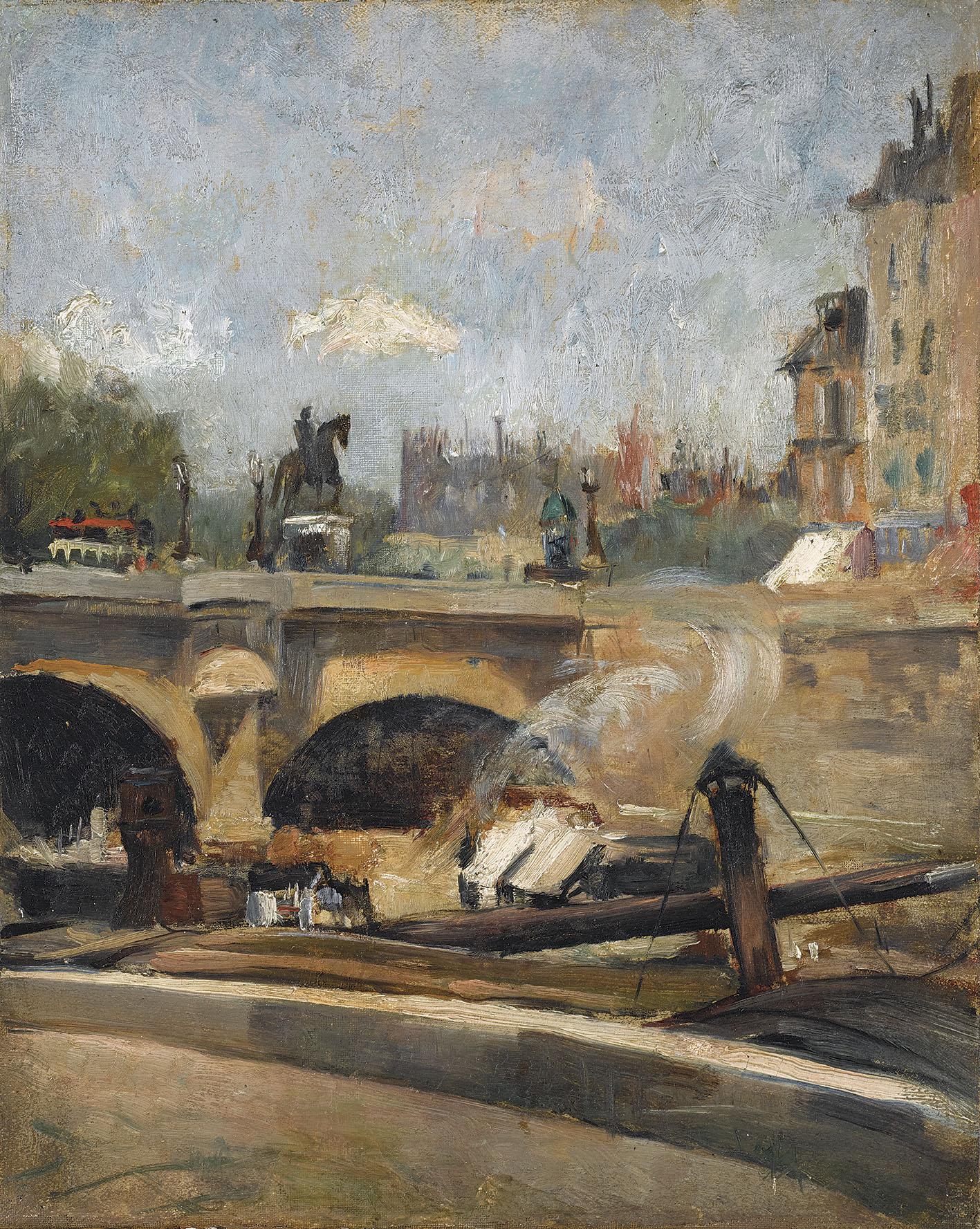 Le Pont-Neuf à Paris (The New Bridge, Paris)
