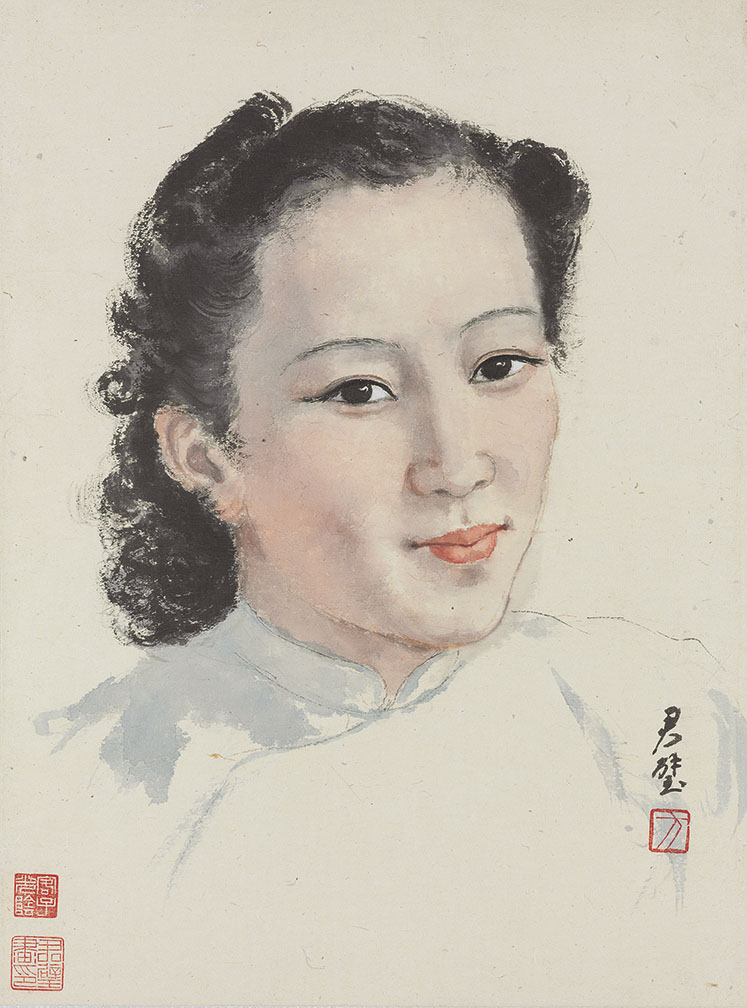 Portrait of Wang Wenxing