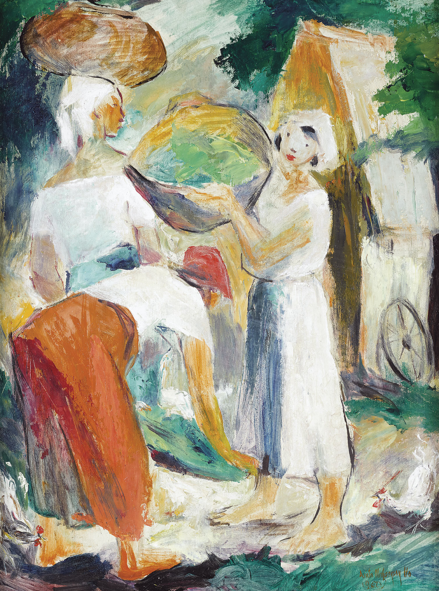Women at the Market