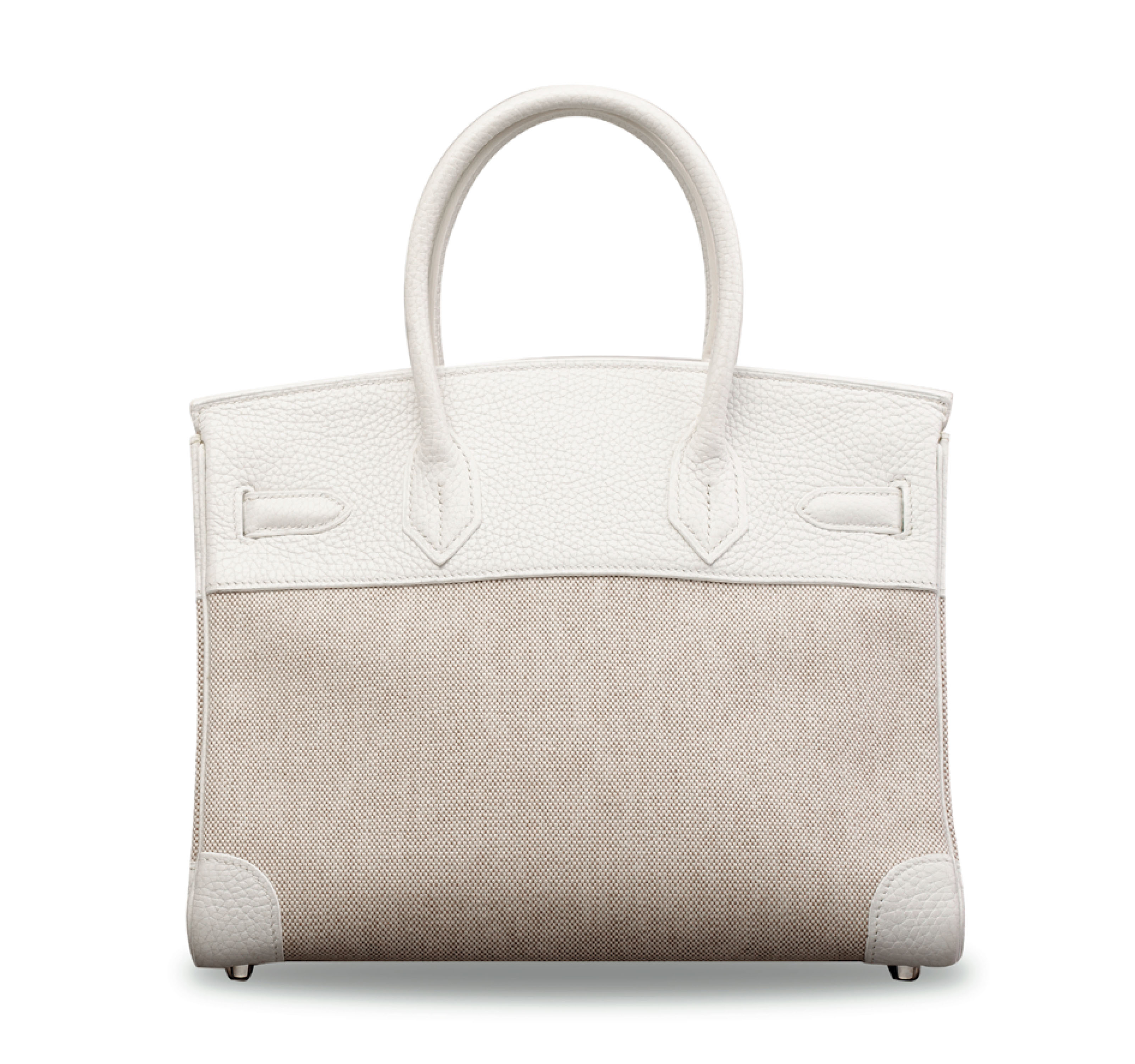 A WHITE CLÉMENCE LEATHER & TOI
