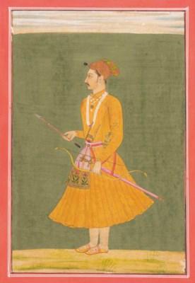 A STANDING PORTRAIT OF KARAN S