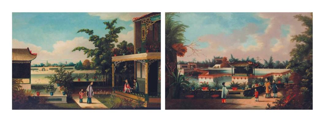 CHINESE SCHOOL, CIRCA 1840