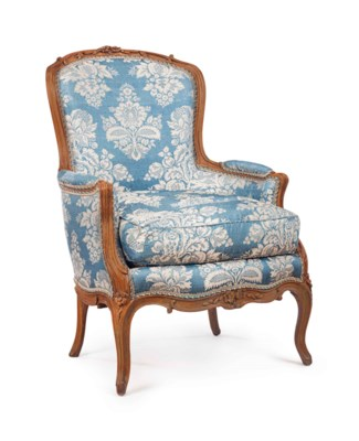A LOUIS XV STYLE BEECHWOOD BER