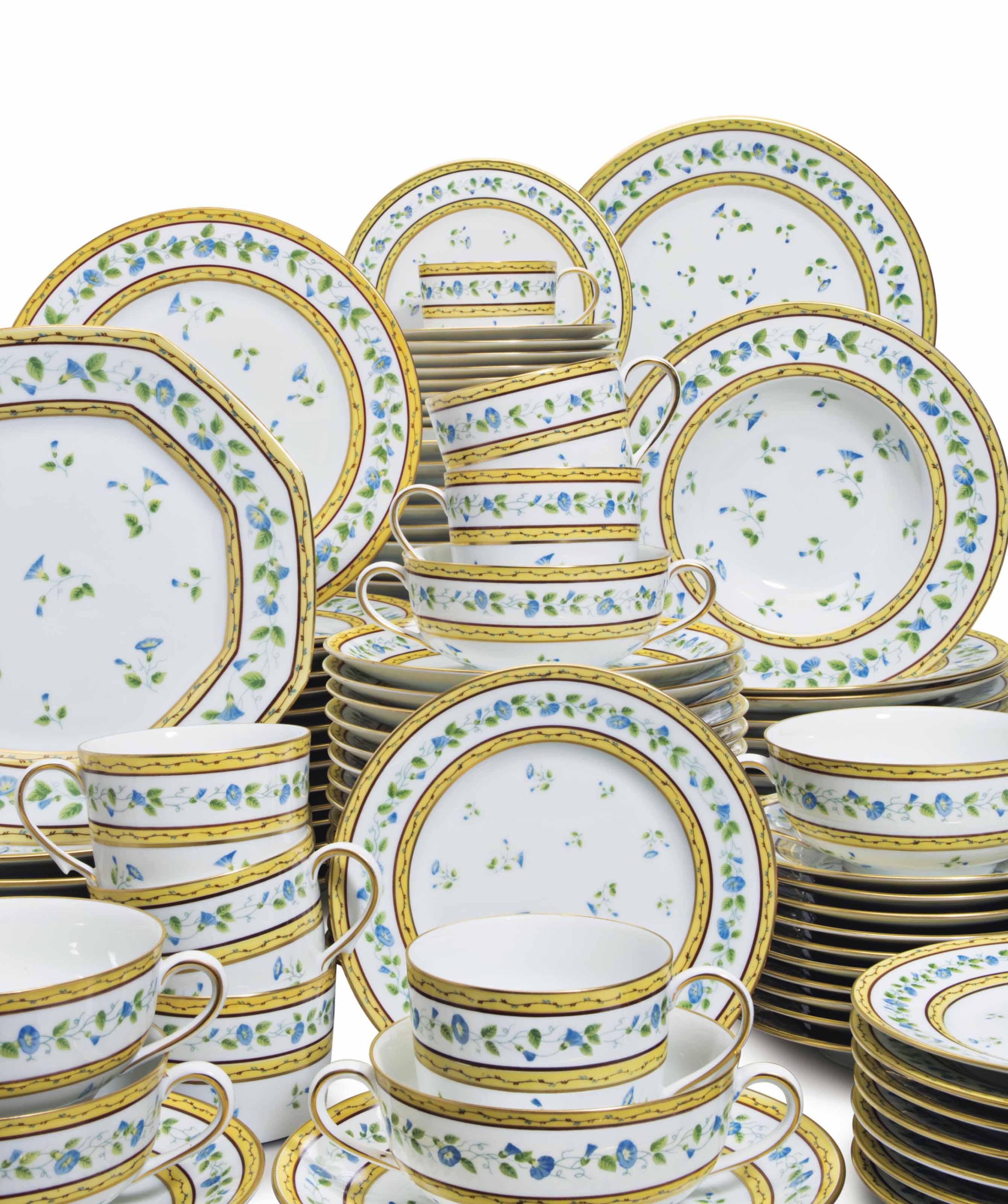 A LIMOGES (RAYNAUD) PORCELAIN PART-DINNER SERVICE