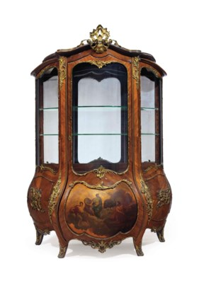 A CONTINENTAL ORMOLU-MOUNTED T