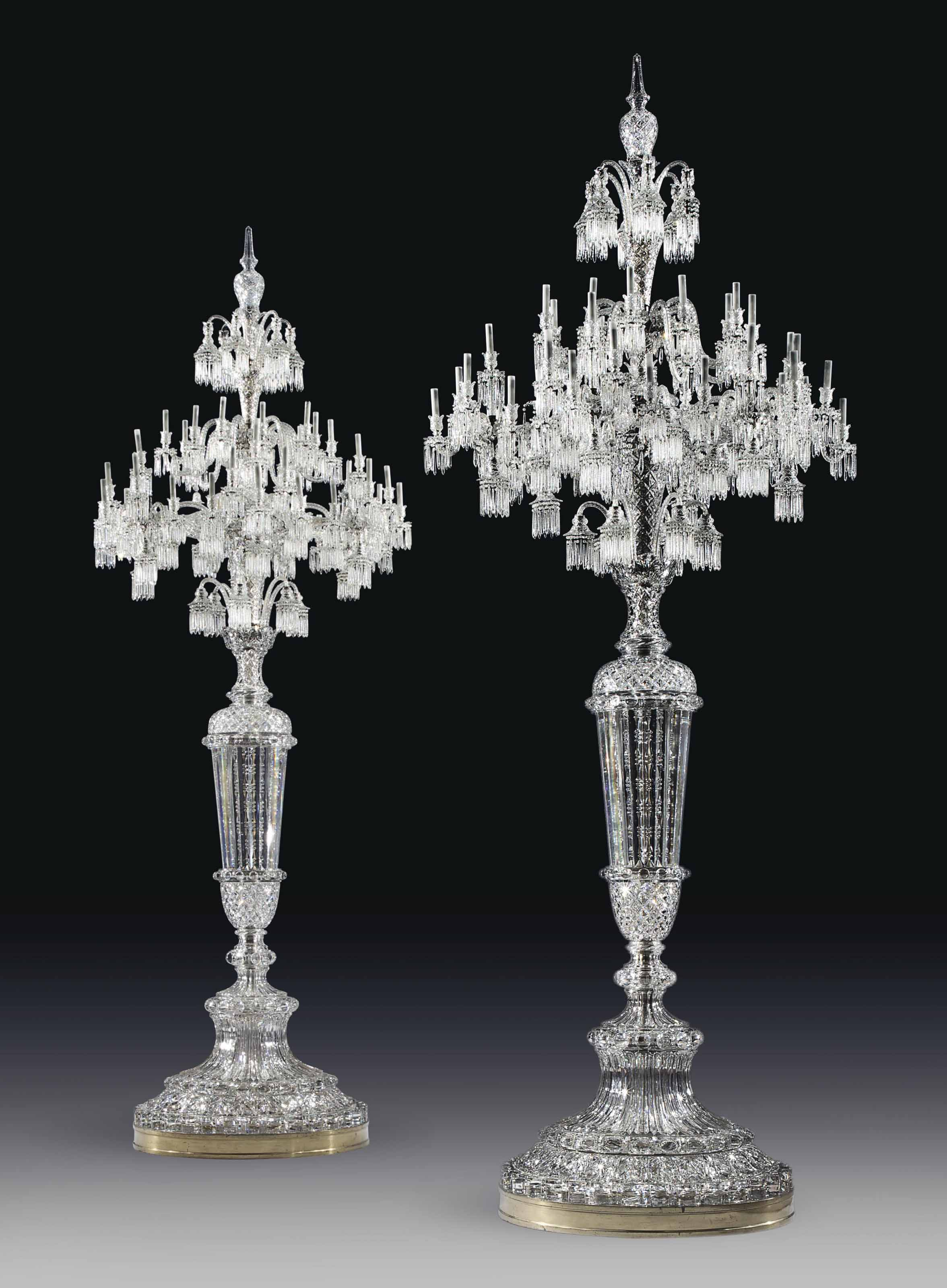 A MONUMENTAL PAIR OF FRENCH CU