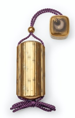 A five-case lacquer sheath inr