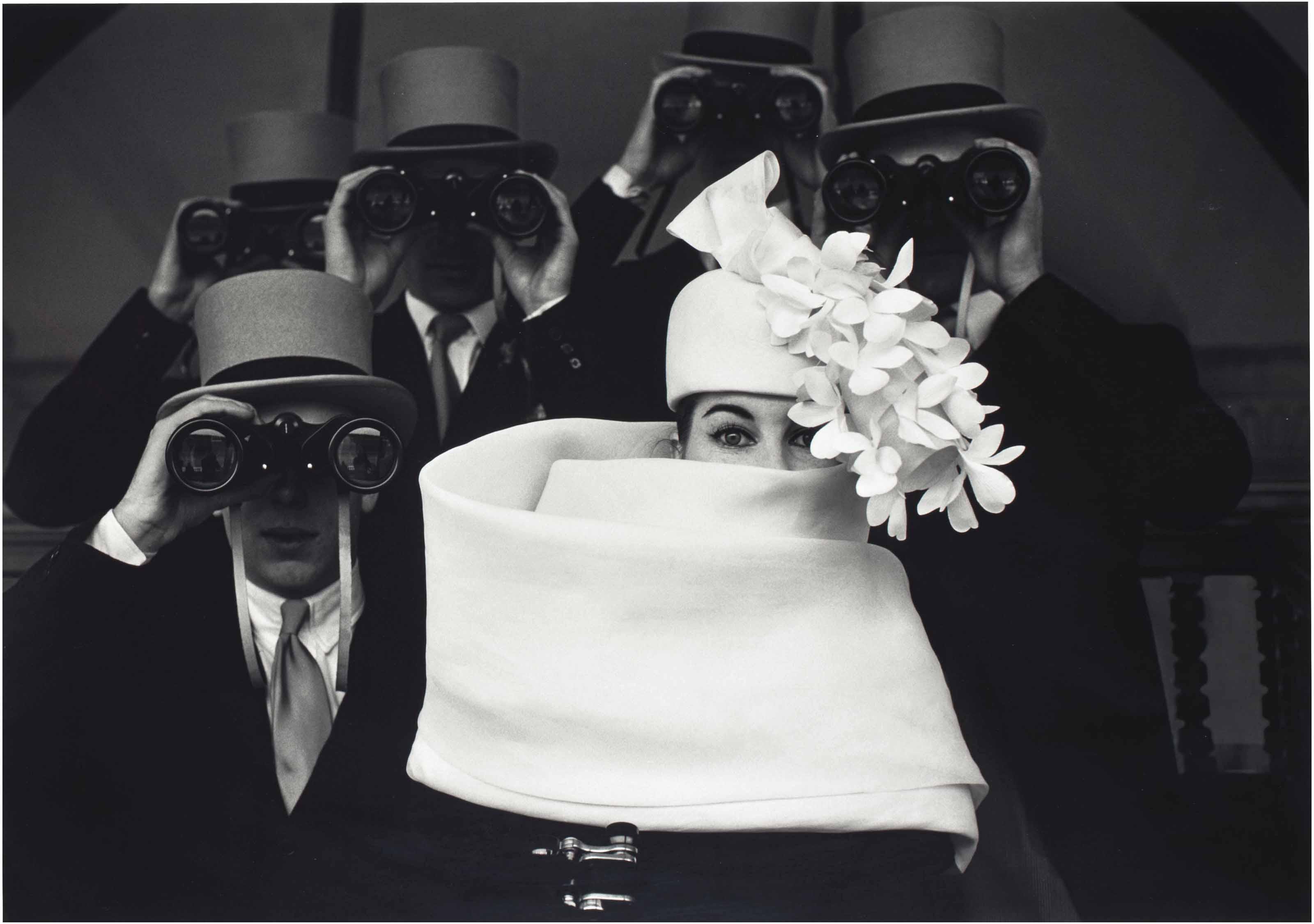 Paris, for Jardin des Modes, Givenchy Hat (b),1958