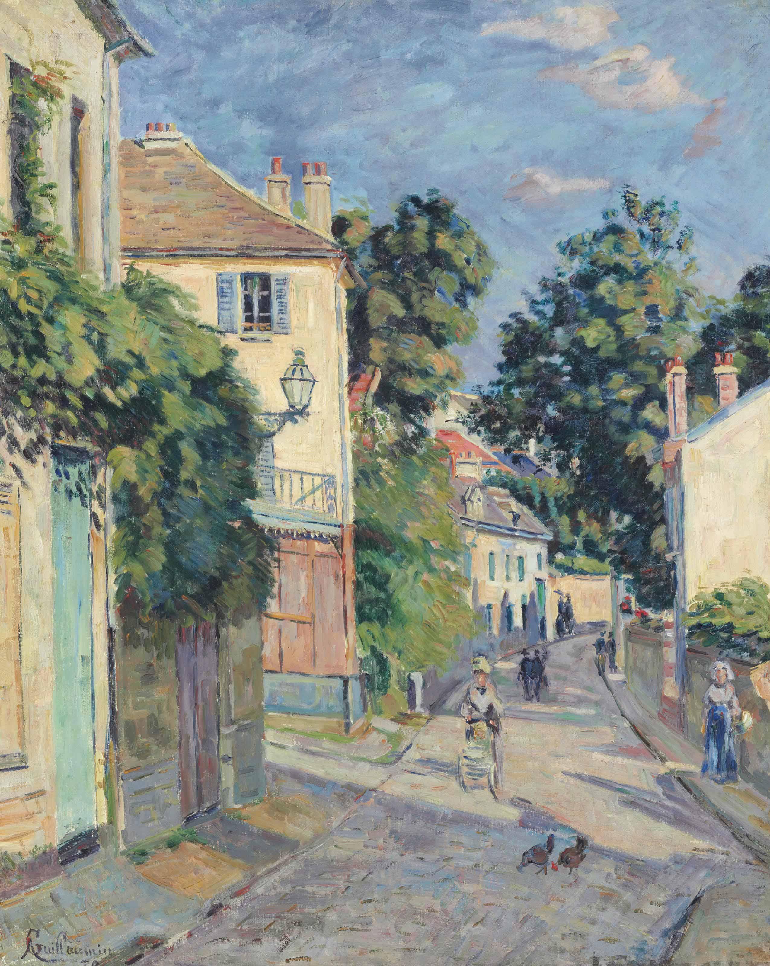 Une rue en Ile-de-France