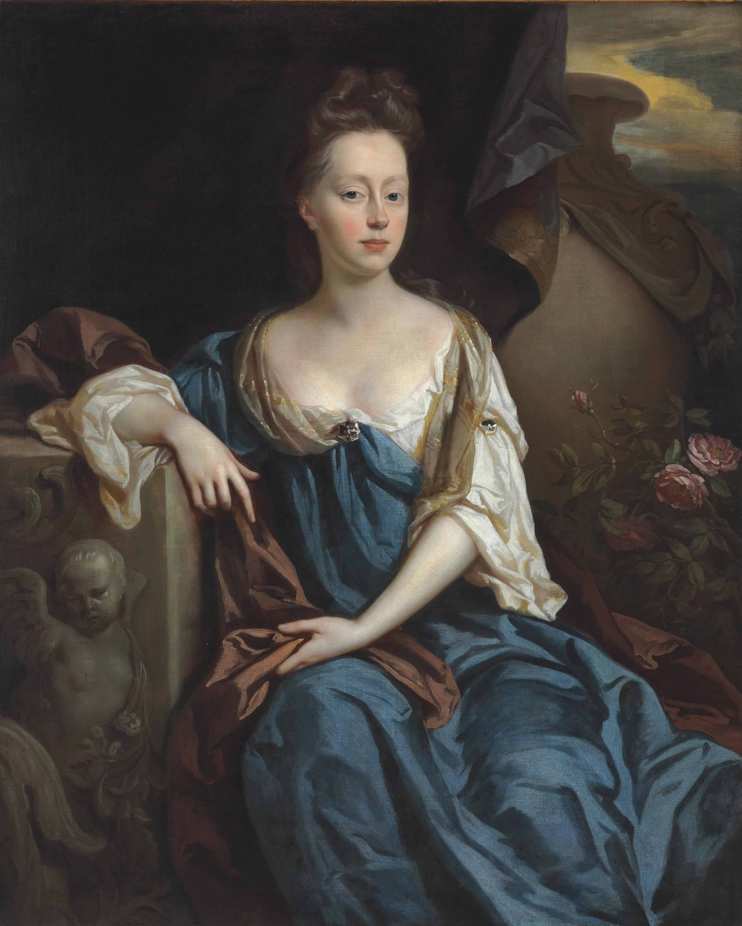 Portrait of Anne Sherard, Lady Brownlow (1659-1721), three-quarter-length
