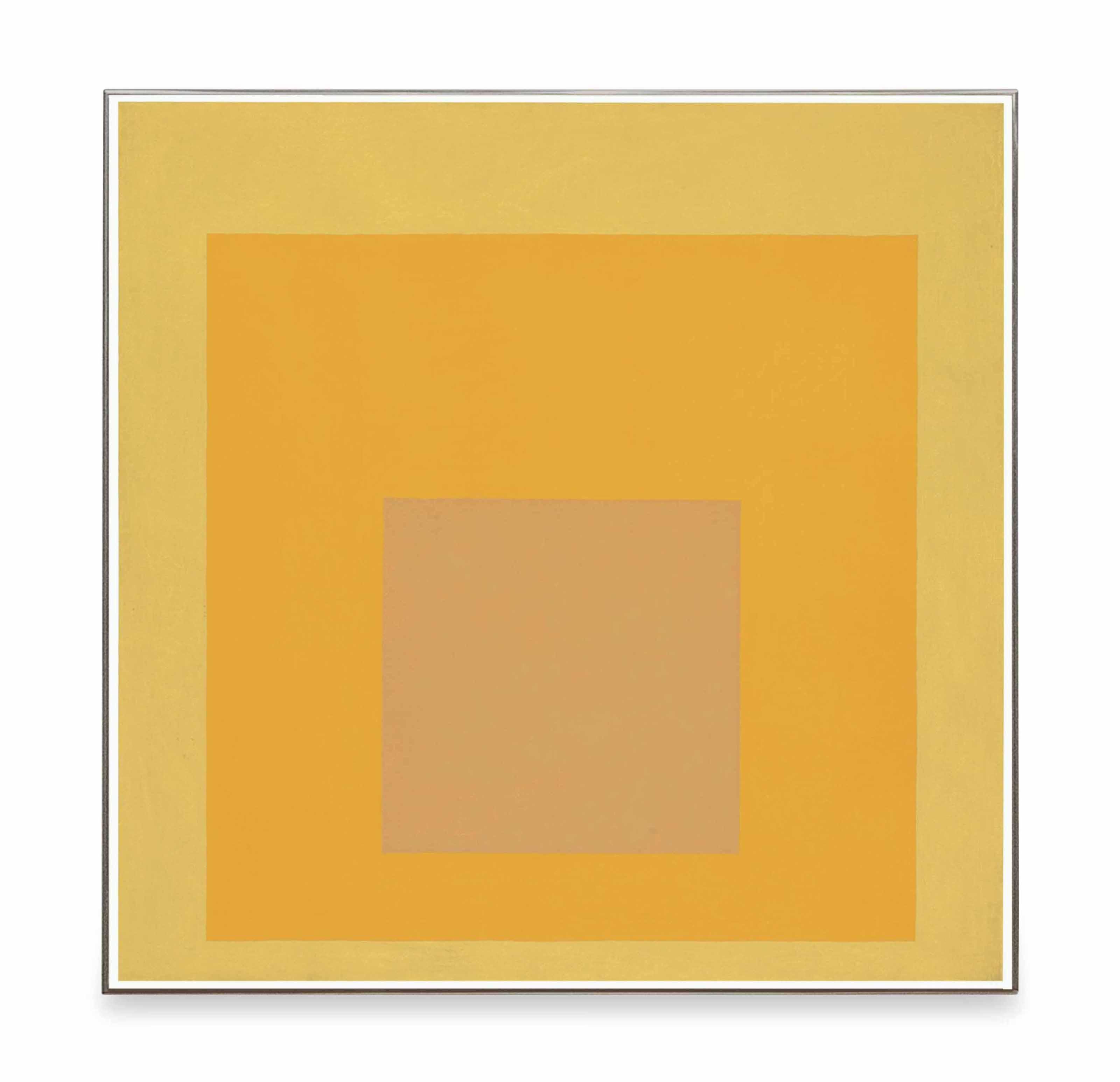 Homage to the Square: Orange Tone